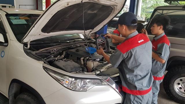 Chọn sản phẩm có cấp độ nhớt SAE phù hợp với dòng xe